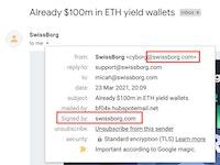 SwissBorg email
