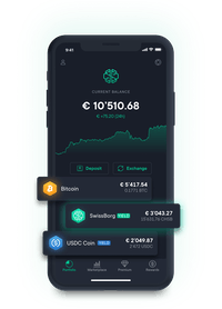 Swissborg App Main Screen