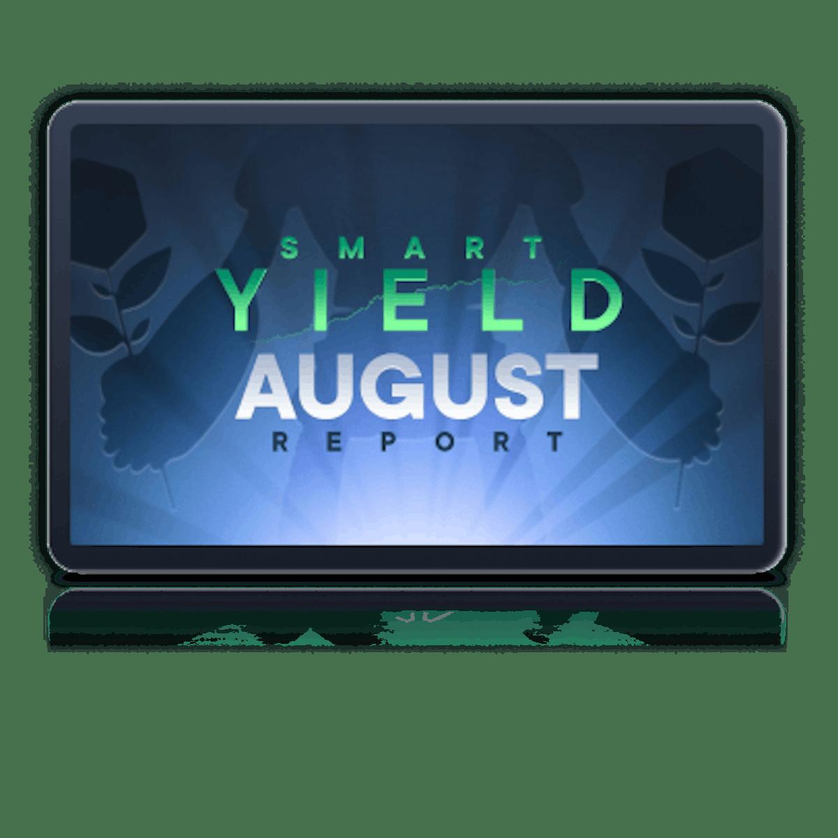 Smart Yield Report Banner August