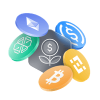 Yield wallet for cryptos