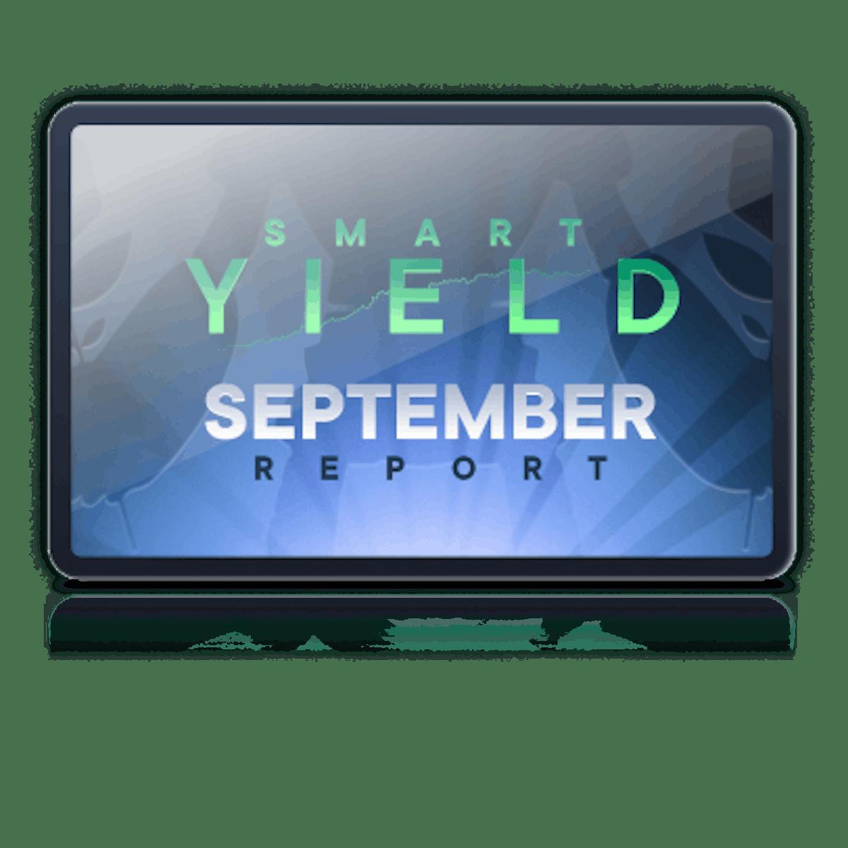 Smart yield banner report September