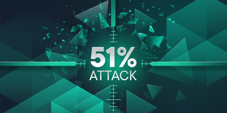 51% attack within blockchain