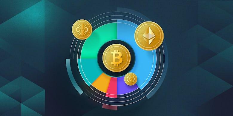 Crypto pie chart