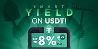 Smart Yield avec le USDT est maintenant disponible