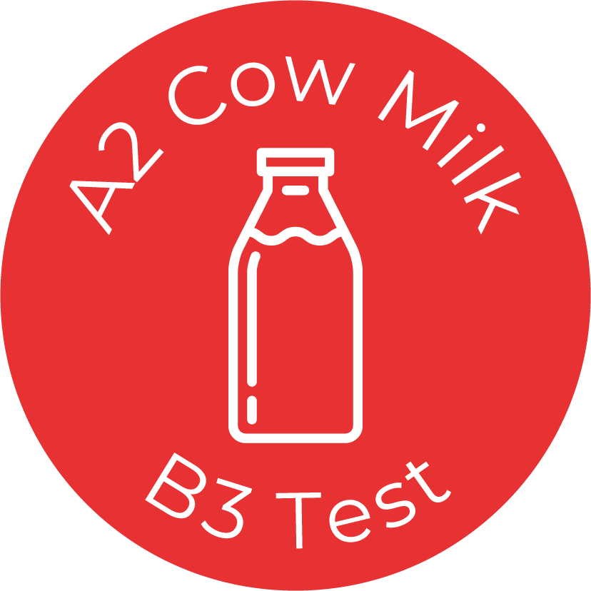 A rapid, on-the-spot test that allows dairy companies to detect the presence of A1-type milk in A2 milk batches.