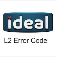 Ideal boiler L2 Error Code