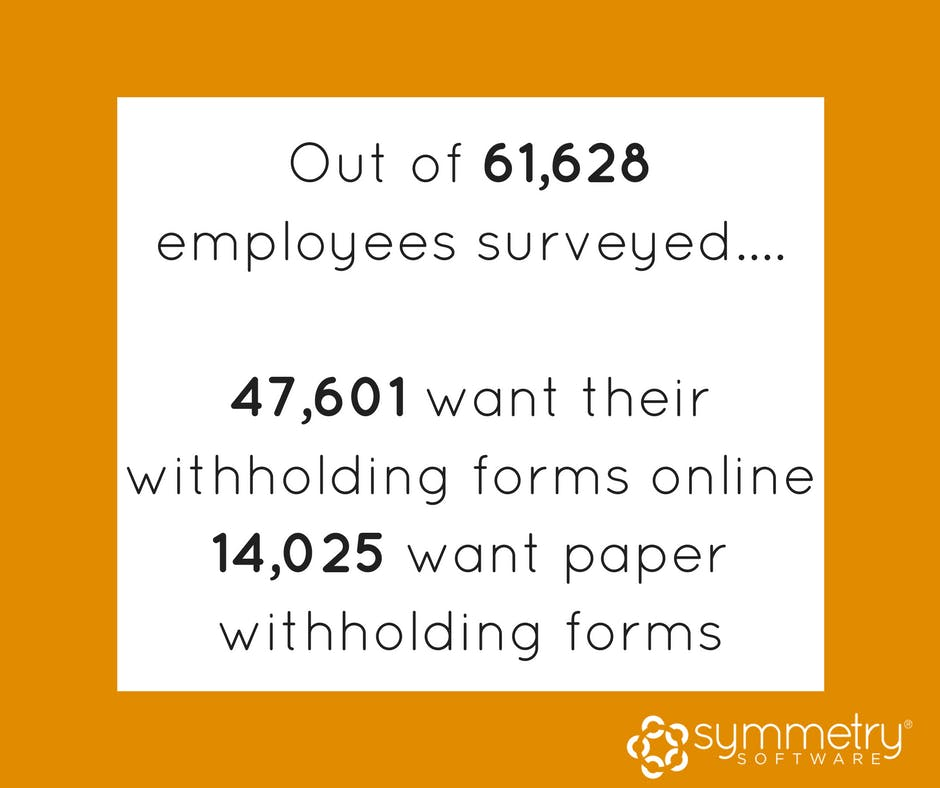 Number Of Online Withholding Forms