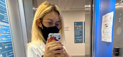 Sophie, interne en radiologie et @thefrench.radiologist sur Instagram, témoigne