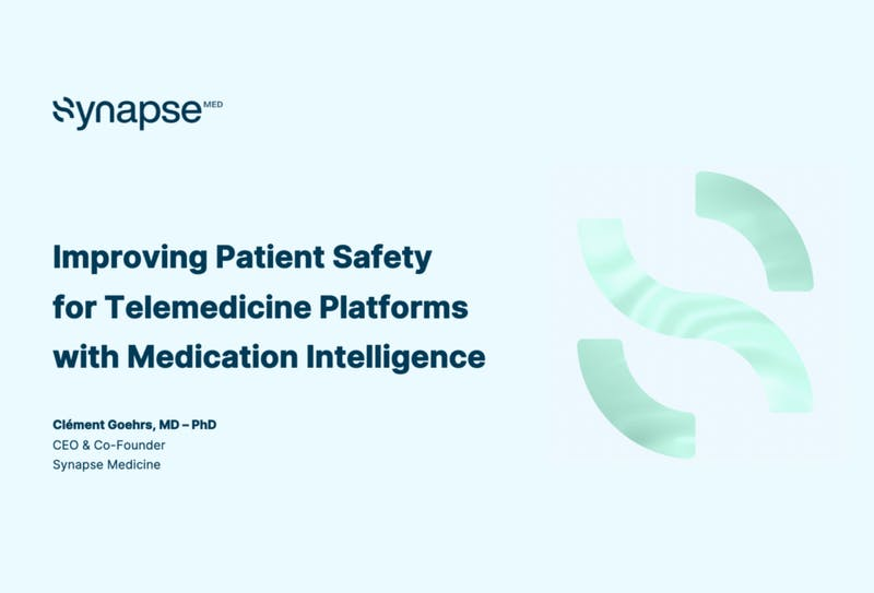 Synapse Medicine Keynote – AI for Health