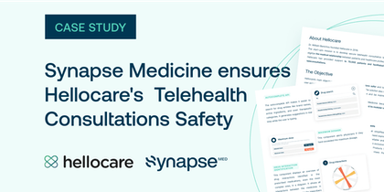 Medication Intelligence ensures Hellocare's Telehealth Consultations Safety