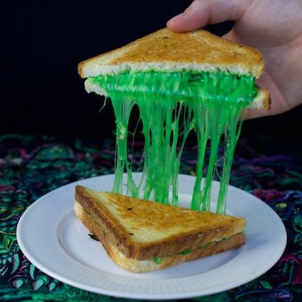 Halloween-toast