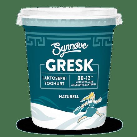 GRESK LAKTOSEFRI MED BB-12™ Naturell 2%