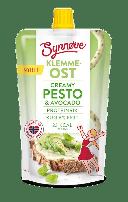 Klemmeost Creamy Pesto & Avocado