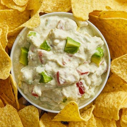 Himmelsk guacamole med gresk yoghurt