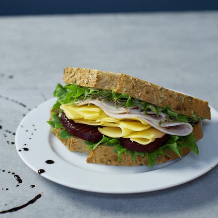 Sandwich med Synnøve Gårdsost