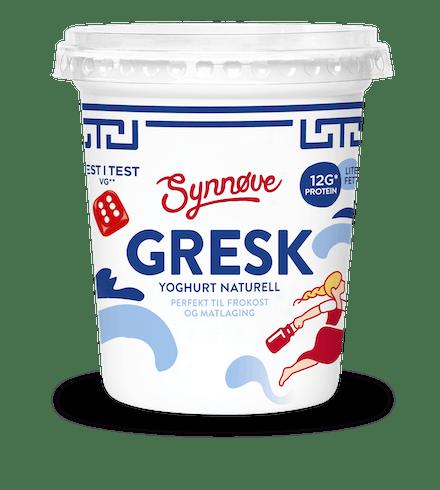 Gresk yoghurt Naturell 350g