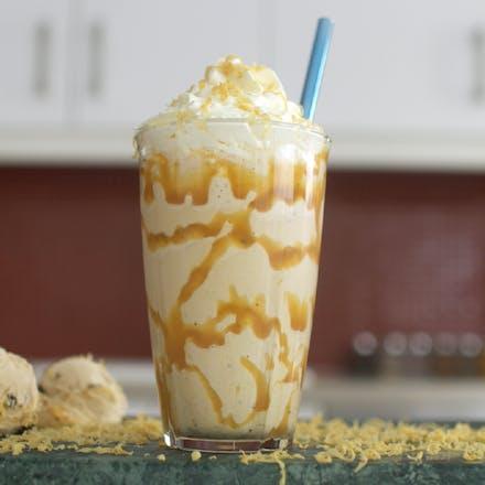 Brunost milkshake (August & Martin)