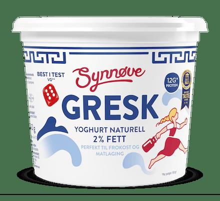Gresk yoghurt Naturell 750g