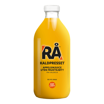RÅ Appelsiner uten fruktkjøtt
