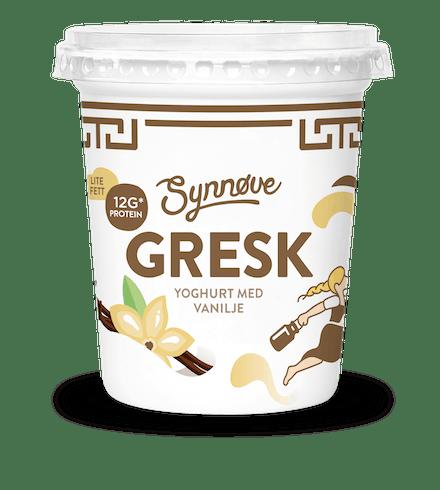 Gresk yoghurt med vanilje 350g