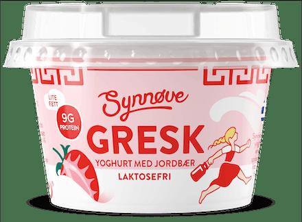 Gresk yoghurt med Jordbær Laktosefri