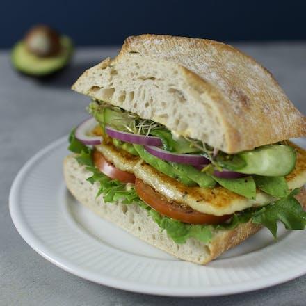 Vegetarsandwich