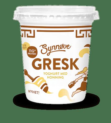 Gresk yoghurt med Honning