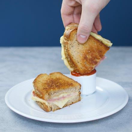 Saftig og creamy hverdags-toast