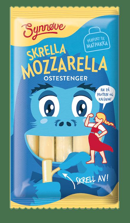 Skrella Mozzarella Ostestrenger