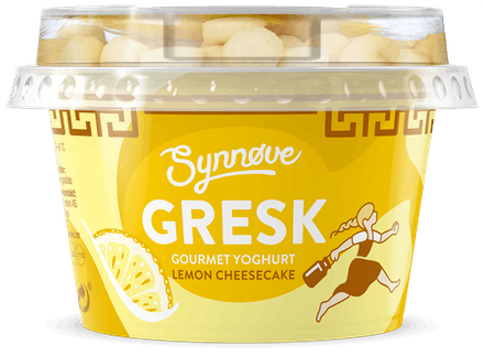 Gresk Gourmet Lemon Cheesecake
