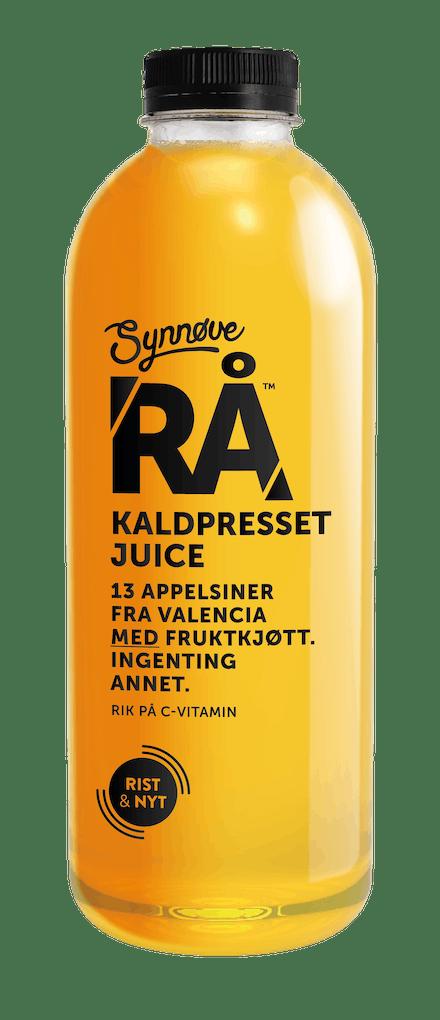 RÅ Kaldpresset Appelsin
