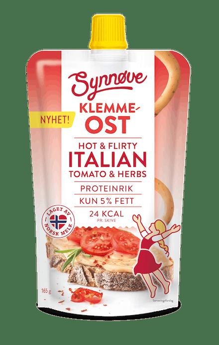 Klemmeost Hot & Flirty Italian Tomato & Herbs
