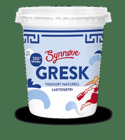 Gresk yoghurt Naturell Laktosefri
