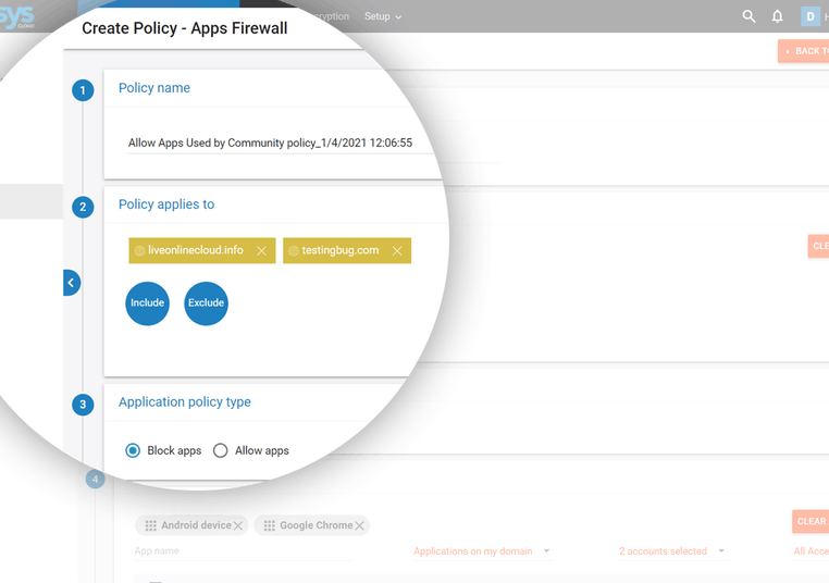 Apps Firewall that stops unauthorized app installations