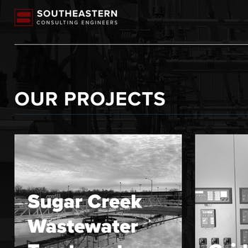 Portfolio Screenshot for Southeastern Consulting Engineers