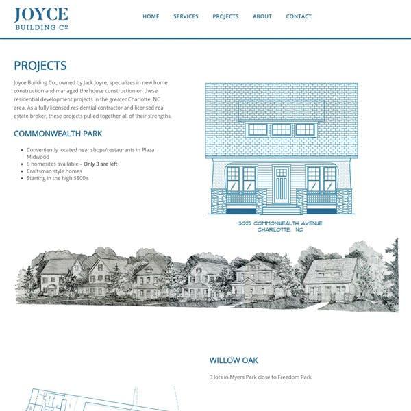 Portfolio Screenshot 2 for Joyce Building Co