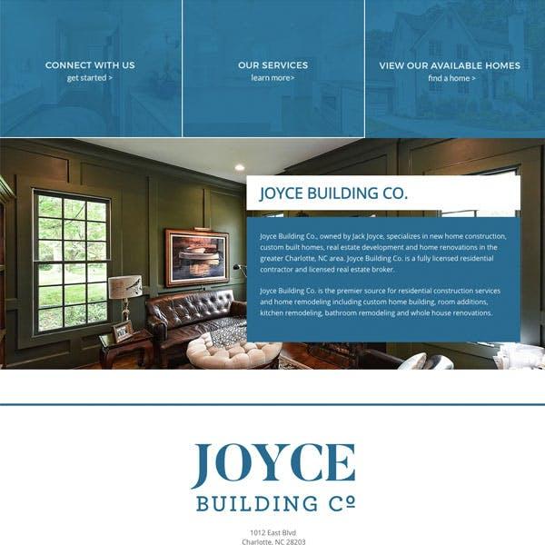 Portfolio Screenshot 3 for Joyce Building Co