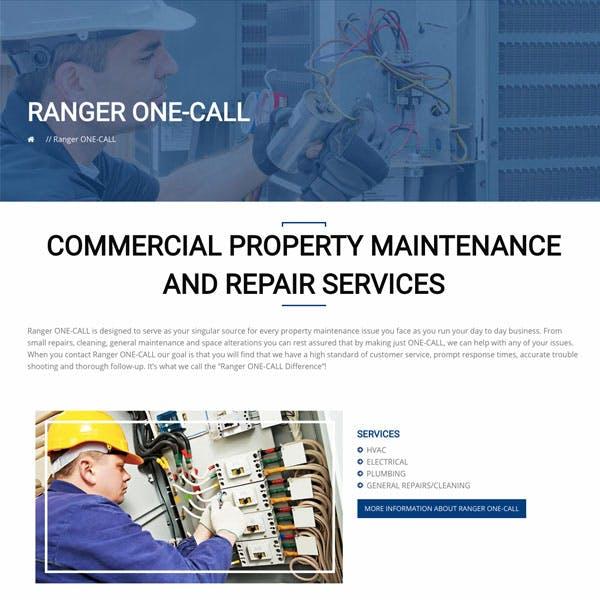 Portfolio Screenshot 3 for Ranger Construction