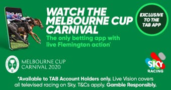 Tab bets on melbourne cup trophee hassan ii golf betting games