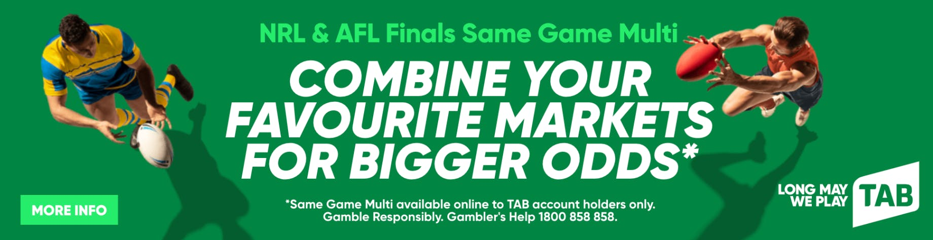 afl betting odds round 136
