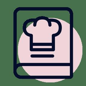icon of recipie book