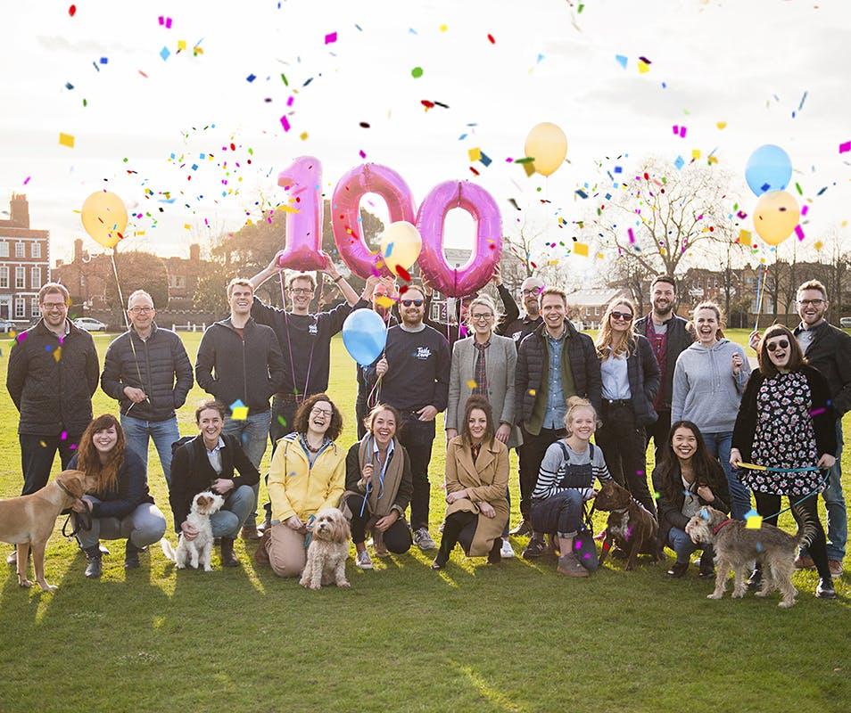 Wir feiern 100.000 Facebook-Fans