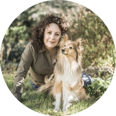 photo of our dog trainer Carolyn