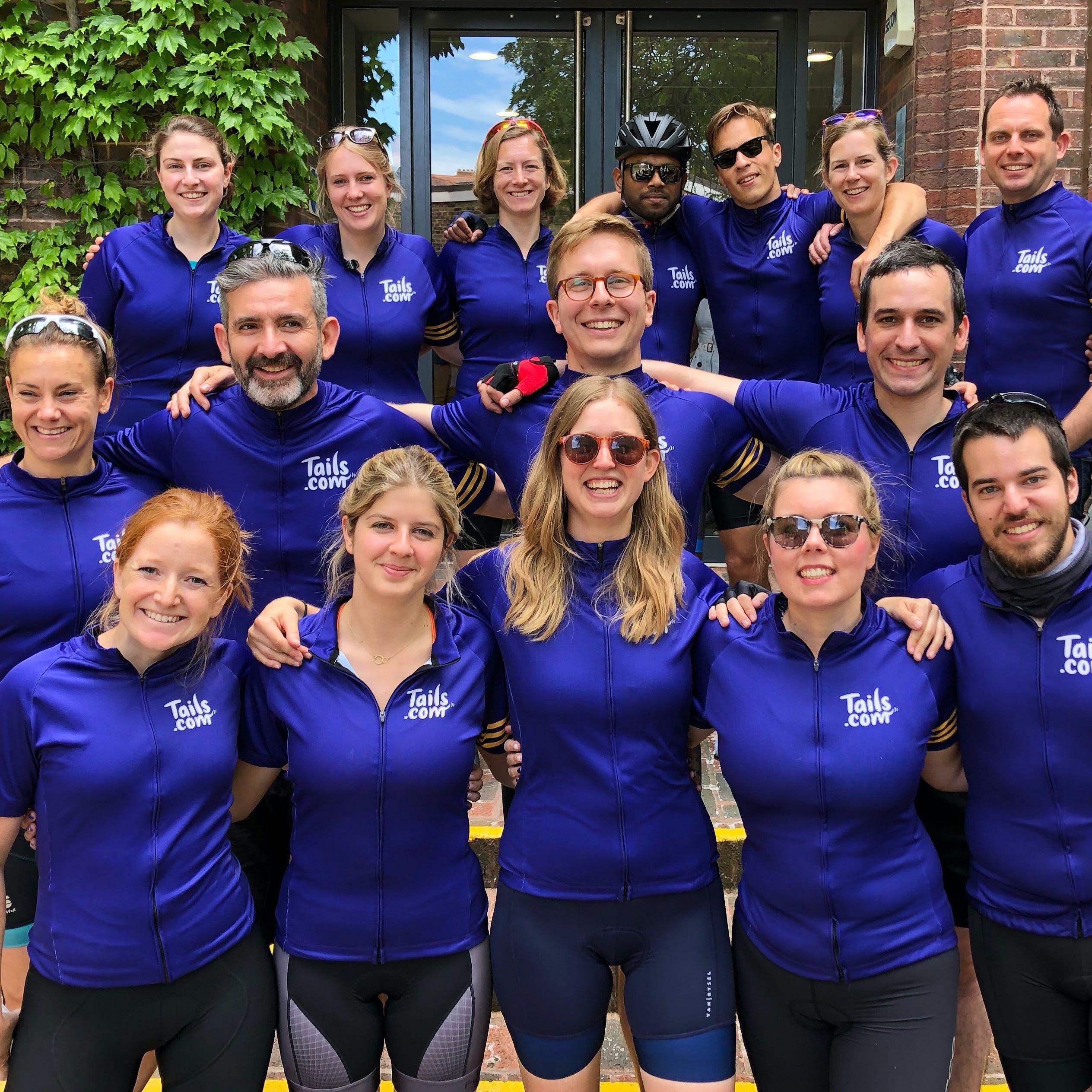 Unser Team im Rad-Outfit