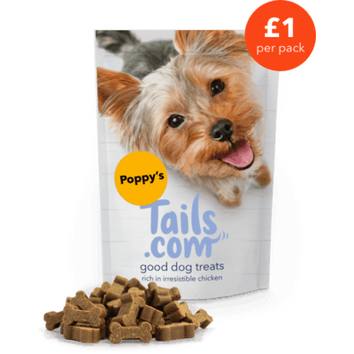 Poppy's good dog treats