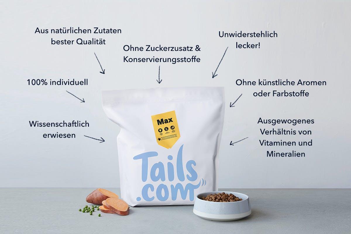 Tails.com Zutaten / Inhaltsstoffe