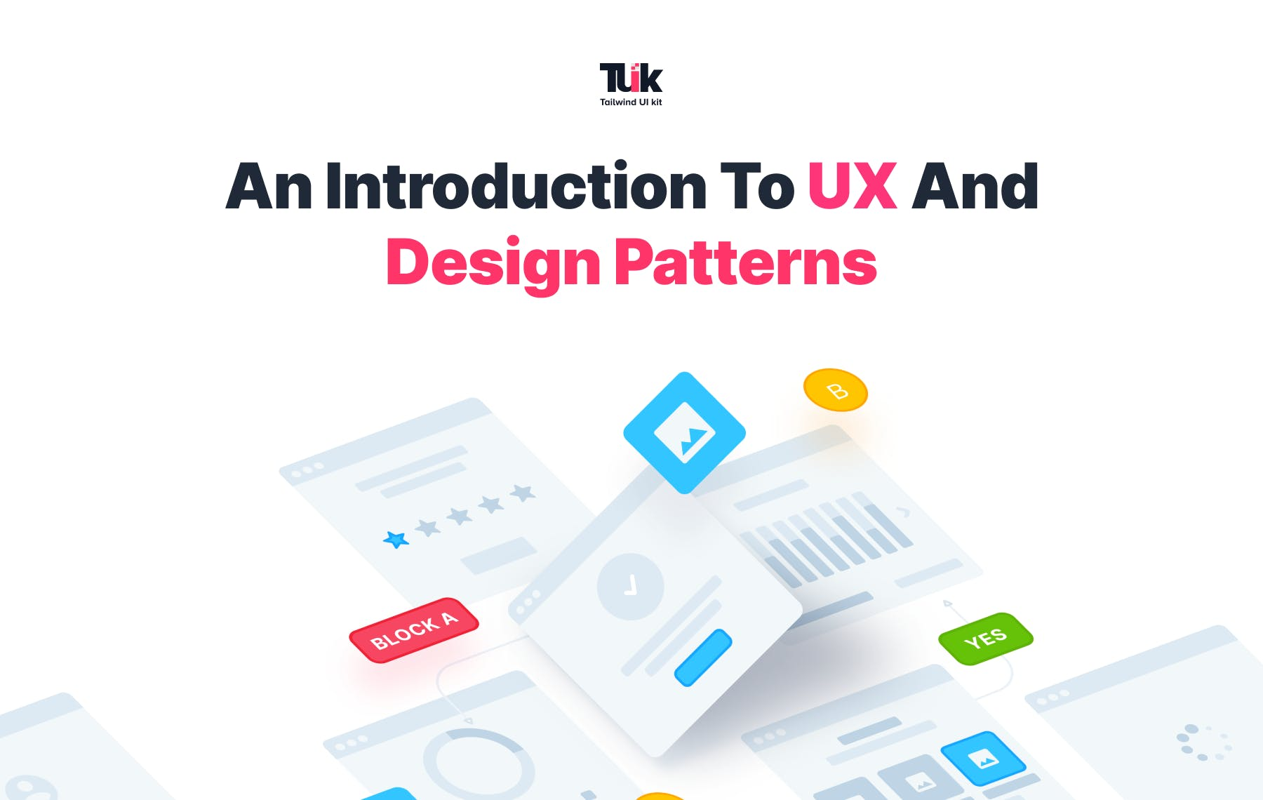 An introduction to UX and Design patterns main image