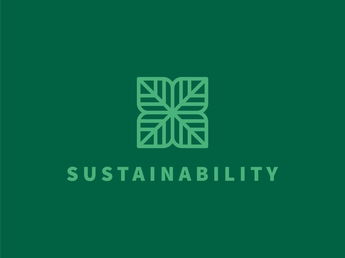 An image with an sustainability written in it