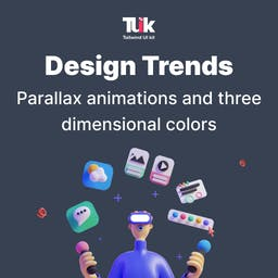 Design trends: Parallax Animations and Three-Dimensional Colours  Blog