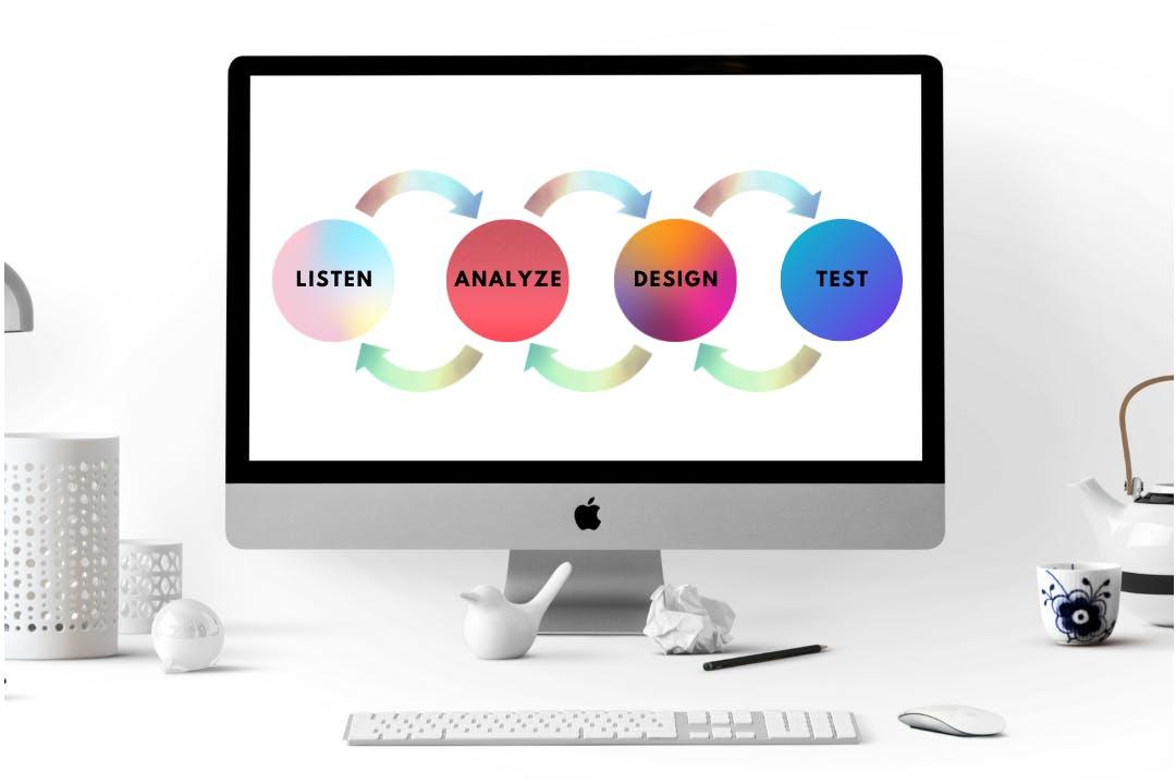 an image explaining the design process